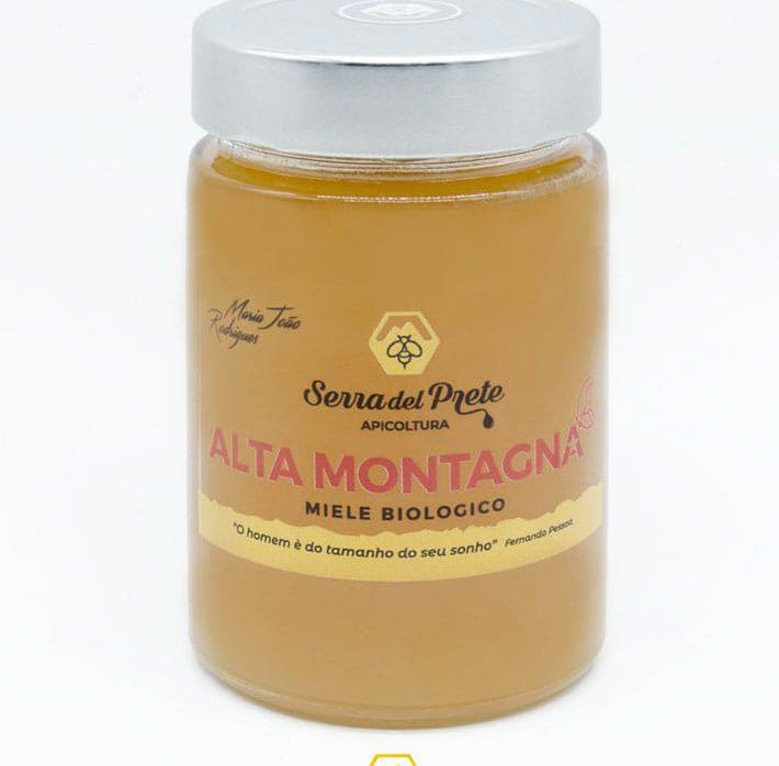 Miele biologico Alta Montagna da 450g