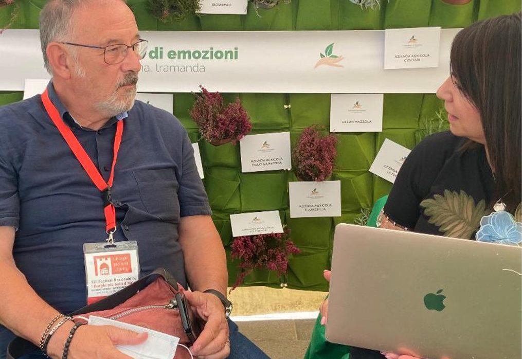 Coltivatori di Emozioni al XIII Festival dei Borghi più belli d'Italia. Fiorello Primi: l'agricoltura essenziale per la salvaguardia dei piccoli borghi