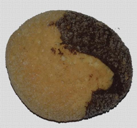 Biscotto bianco e nero al kg