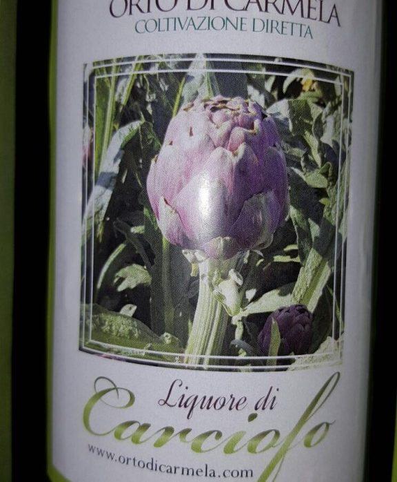 Liquore carciofi di Castellammare di Stabia 0.50cl